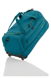 Travelite Basics Wheelbag foldable in bag Petrol