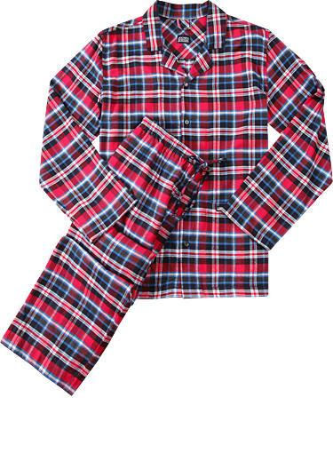 7ea198a56770 Luxusní pánské flanelové pyžamo JOCKEY 54323 bavlněné