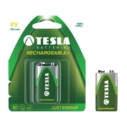 TESLA - baterie 9V RECHARGEABLE+, 1ks, 6HR61