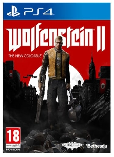 PS4 - WOLFENSTEIN II THE NEW COLOSSUS