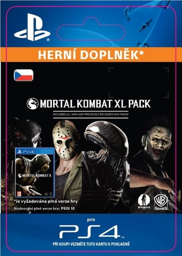 ESD CZ PS4 - MORTAL KOMBAT X XL PACK