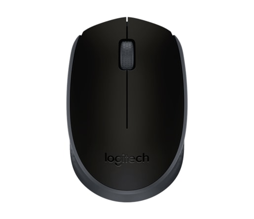 MYŠ LOGITECH WIRELESS MOUSE M171, ŠEDÁ