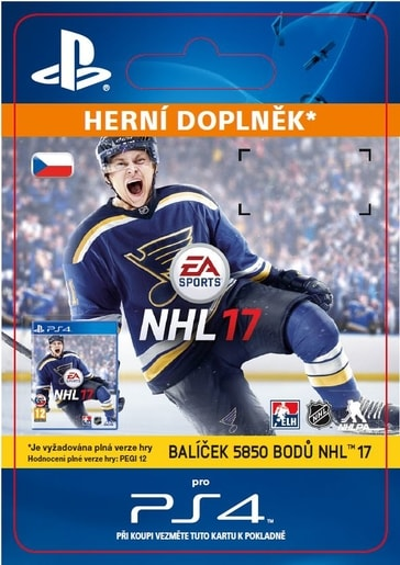 ESD CZ PS4 - 5850 NHL POINTS PACK