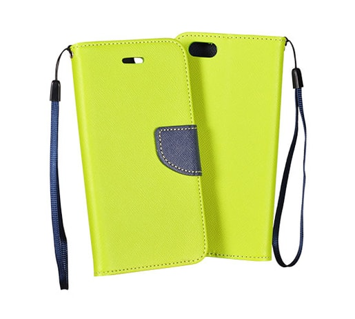 POUZDRO FANCY SAMSUNG A300 GALAXY A3 LIME/NAVY