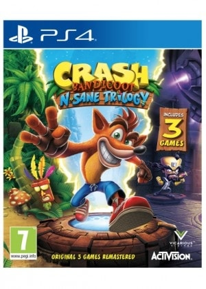 PS4 - CRASH BANDICOOT N. SANE TRILOGY EN