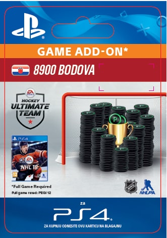 ESD CZ PS4 - 8900 NHL 18 POINTS PACK