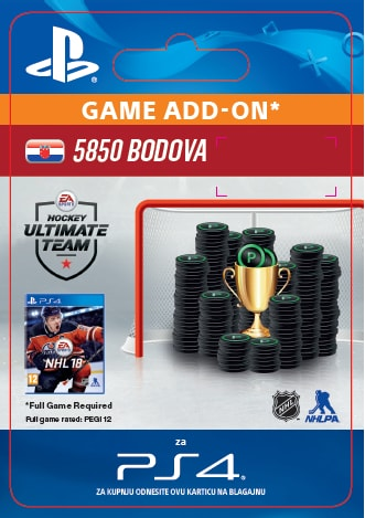 ESD CZ PS4 - 5850 NHL 18 POINTS PACK