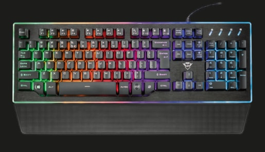 KLÁV. TRUST GXT 860 THURA SEMI-MECHANICAL KEYBOARD CZ/SK
