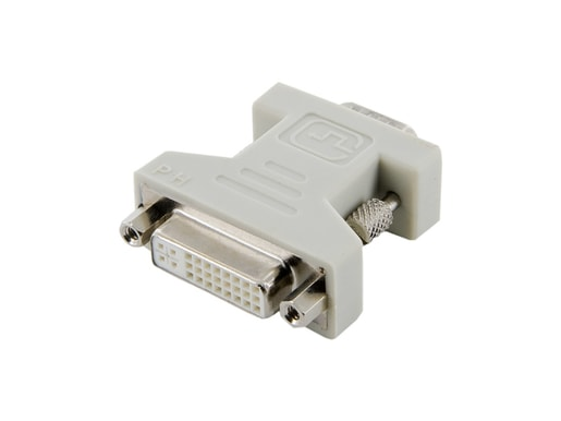 4WORLD ADAPTÉR DVI-I 24+5F - VGA M BLACK