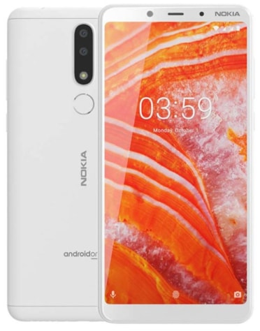 NOKIA 3.1 PLUS 3GB/32GB DUAL SIM WHITE
