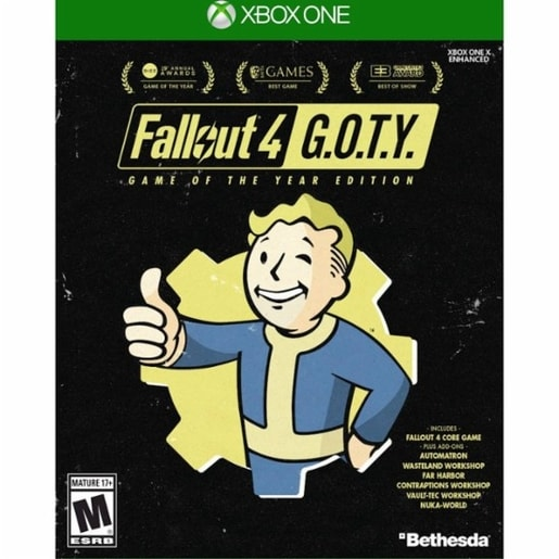 XONE - FALLOUT 4 GAME OF THE YEAR EDITION