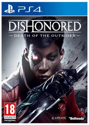 PS4 - DISHONORED: DEATH OF THE OUTSIDER