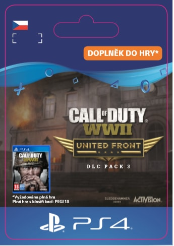 ESD CZ PS4 - CALL OF DUTY®: WWII - THE UNITED