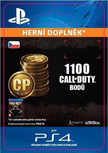 ESD CZ PS4 - 1,000 (+100 BONUS) CALL OF DUTY POINT