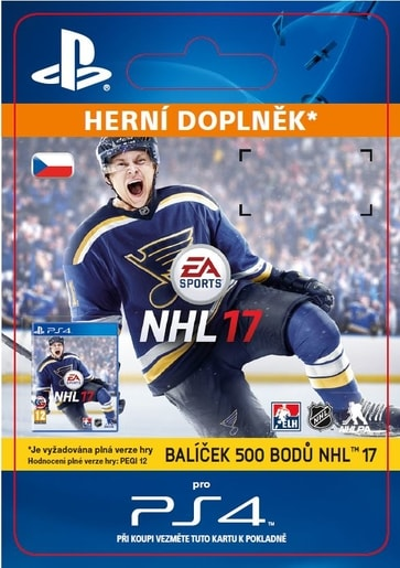 ESD CZ PS4 - 500 NHL POINTS PACK