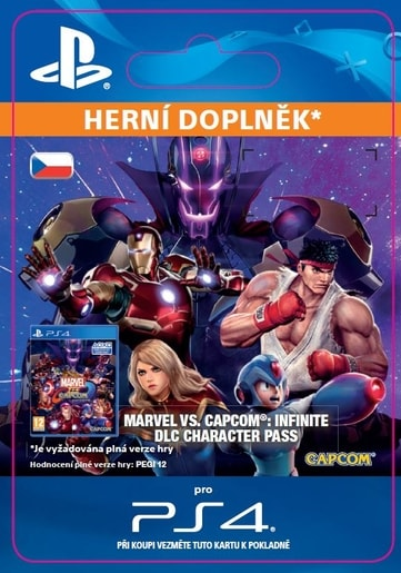 ESD CZ PS4 -MARVEL VS. CAPCOM: INFINITE CHARACTER PASS