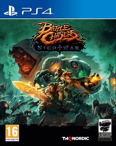 PS4 - BATTLE CHASERS: NIGHTWAR