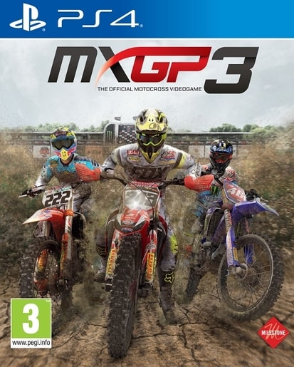 PS4 - MXGP3 - THE OFFICIAL MOTOCROSS VIDEOGAME