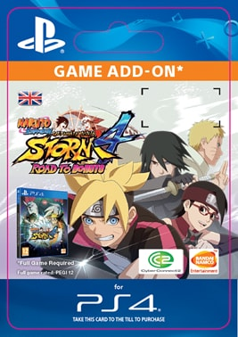 ESD CZ PS4 - NARUTO STORM 4: ROAD TO BORUTO EXPANSION