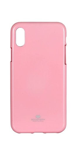 TPU POUZDRO SAMSUNG GALAXY S6 EDGE + (G928) JELLY CASE PINK