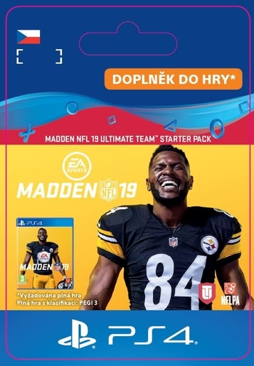 ESD CZ PS4 - MADDEN NFL 19 ULTIMATE TEAM STARTER PACK