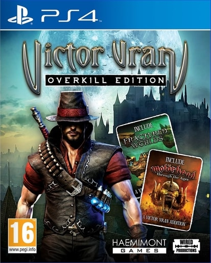 PS4 - VICTOR VRAN: OVERKILL EDITION