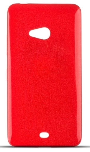 TPU POUZDRO NOKIA LUMIA 540 ULTRA SLIM (0,3MM) RED