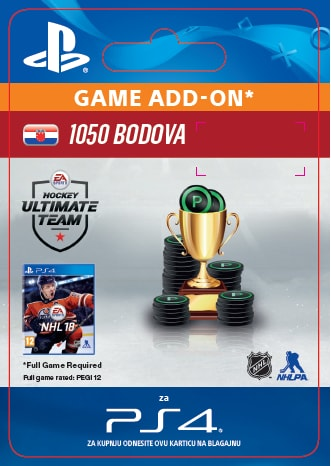 ESD CZ PS4 - 1050 NHL 18 POINTS PACK
