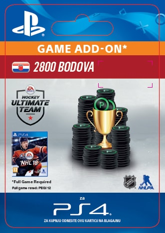 ESD CZ PS4 - 2800 NHL 18 POINTS PACK