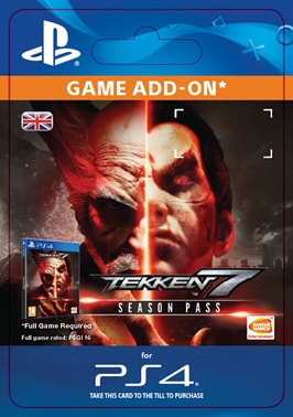 ESD CZ PS4 - TEKKEN 7 - SEASON PASS