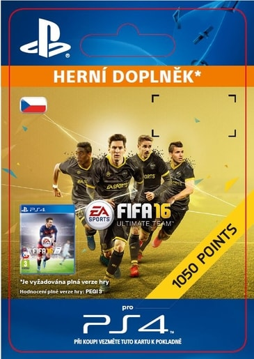ESD CZ PS4 - 1,050 FIFA POINTS