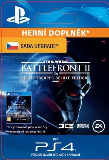 ESD CZ PS4 - STAR WARS™ BATTLEFRONT™ II: DELUXE - UPGRADE (AV. 17.11.2017)