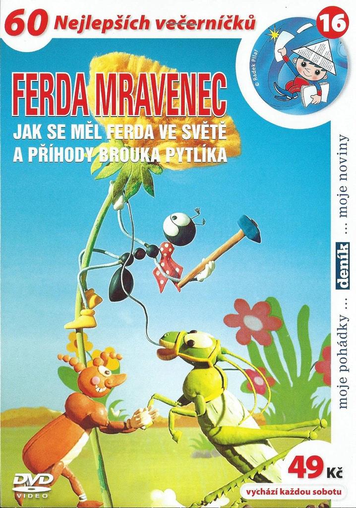 DVD Ferda mravenec - Jak se měl Ferda ve světě