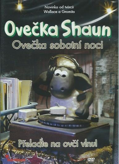 DVD Ovečka Shaun - Ovečka sobotní noci - Přelaďte na ovčí vlnu!
