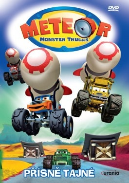 DVD Meteor Monster Trucks 4 - Přísně tajné