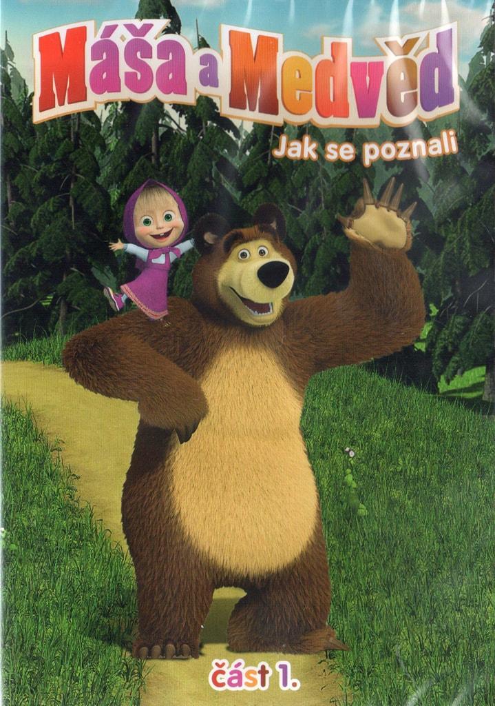 DVD Máša a Medvěd 1 - Jak se poznali