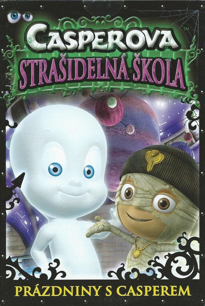 DVD Casperova strašidelná škola - Prázdniny s Casperem