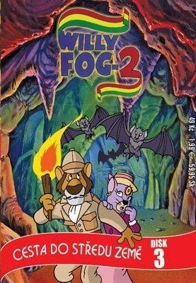 DVD Willy Fog - cesta do středu země 3