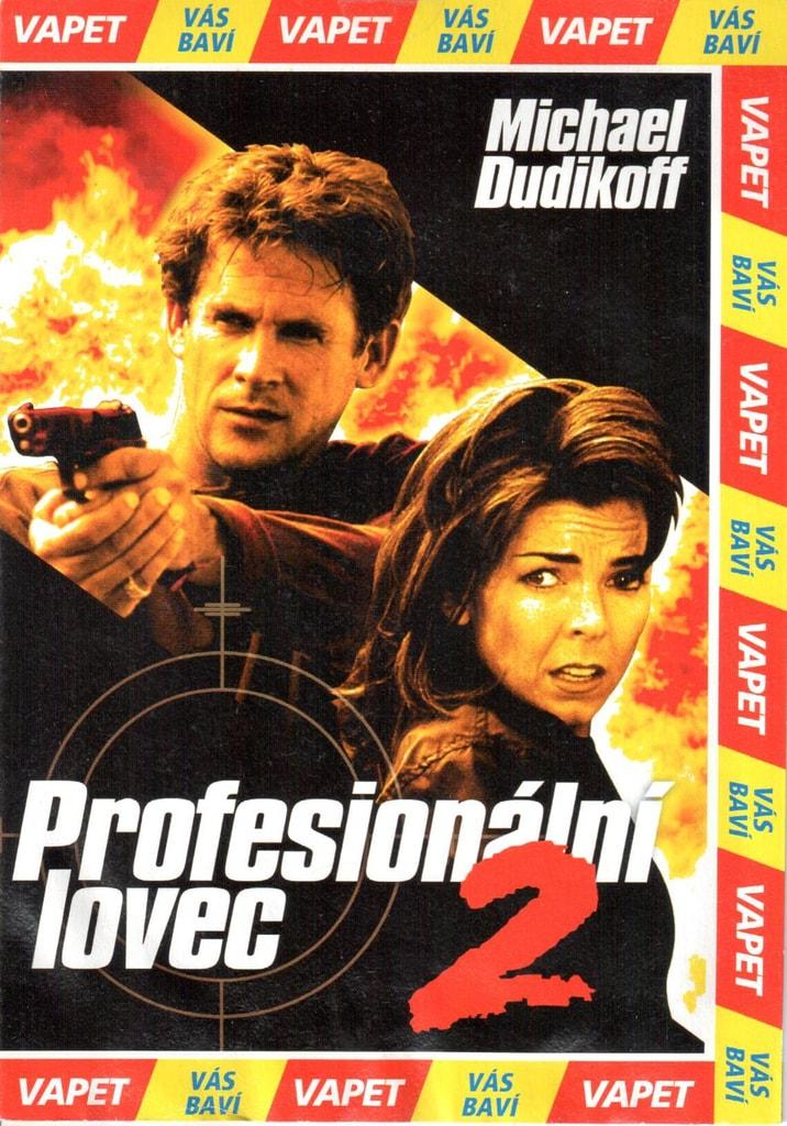 DVD Profesionální lovec 2 (poškozené)