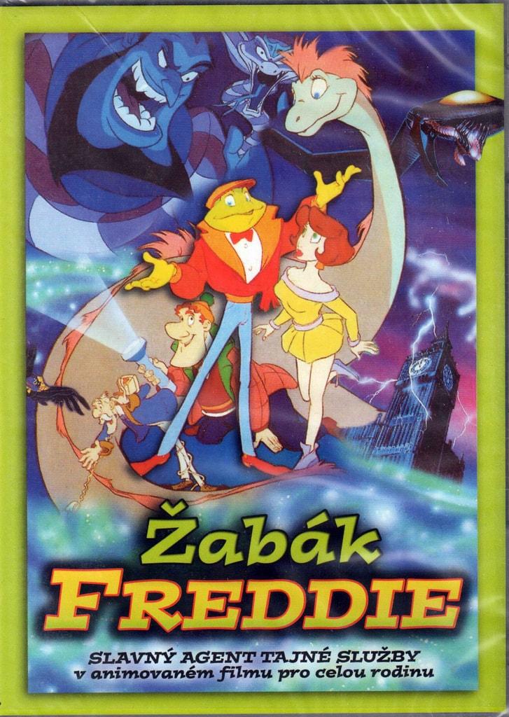 DVD Žabák Freddie (Slim box)