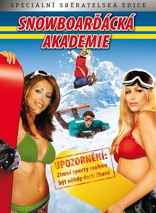 DVD Snowboarďácká akademie (Digipack)