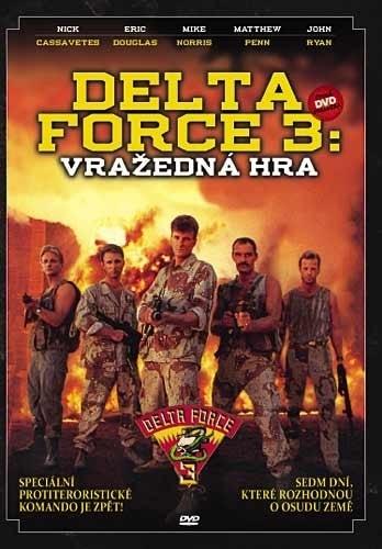 DVD Delta Force 3: Vražedná hra