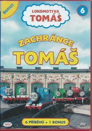DVD Lokomotiva Tomáš 6 - Zachránce Tomáš