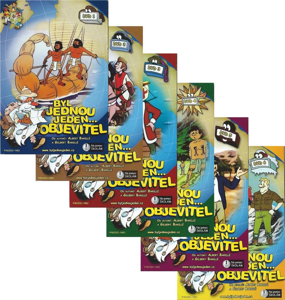 DVD Byl jednou jeden objevitel sada (6 DVD)