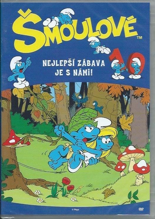 DVD Šmoulové 10