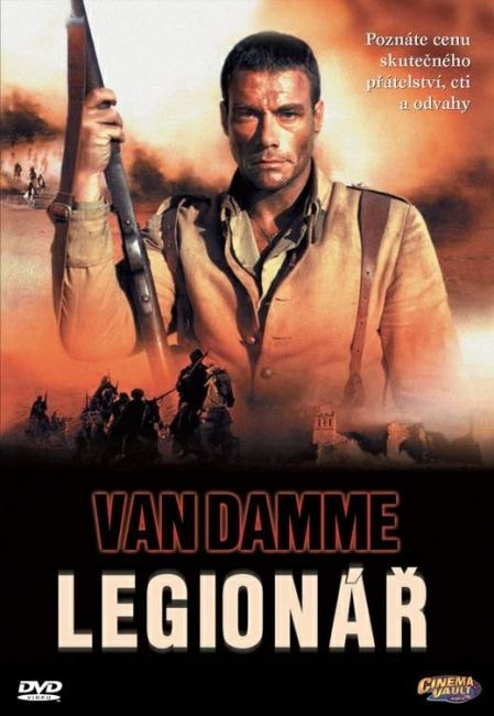 DVD Legionář