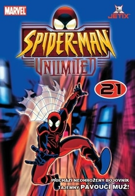 DVD Spiderman bez hranic 21