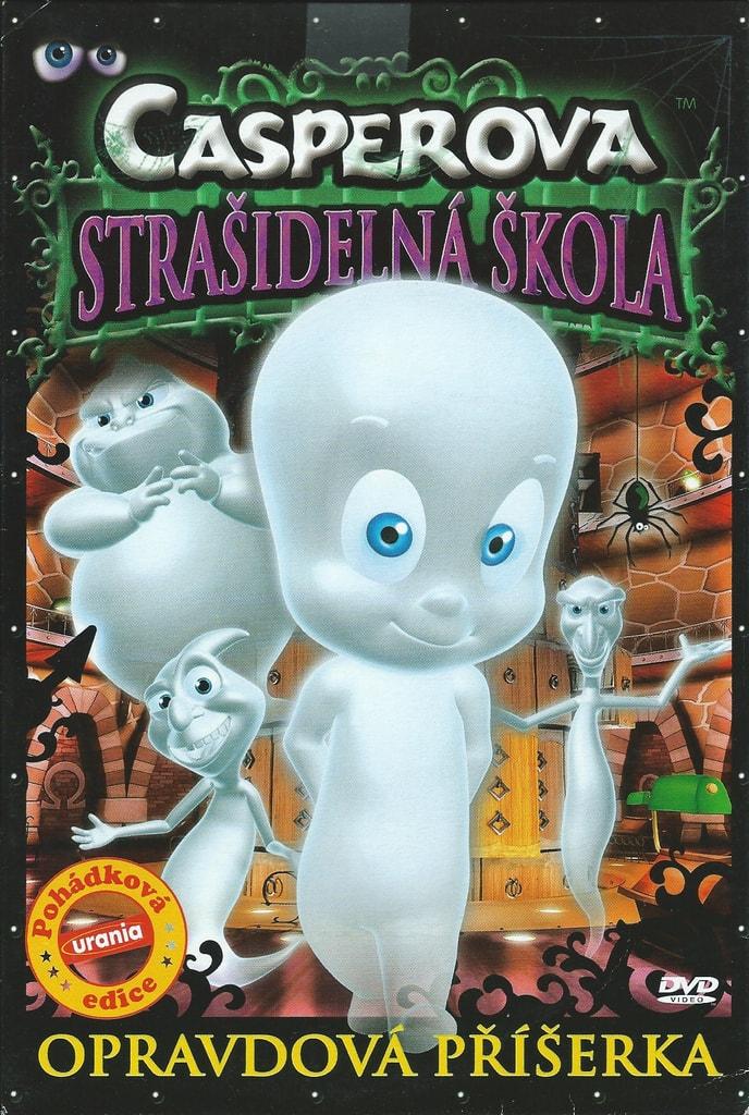 DVD Casperova strašidelná škola - Opravdová příšerka