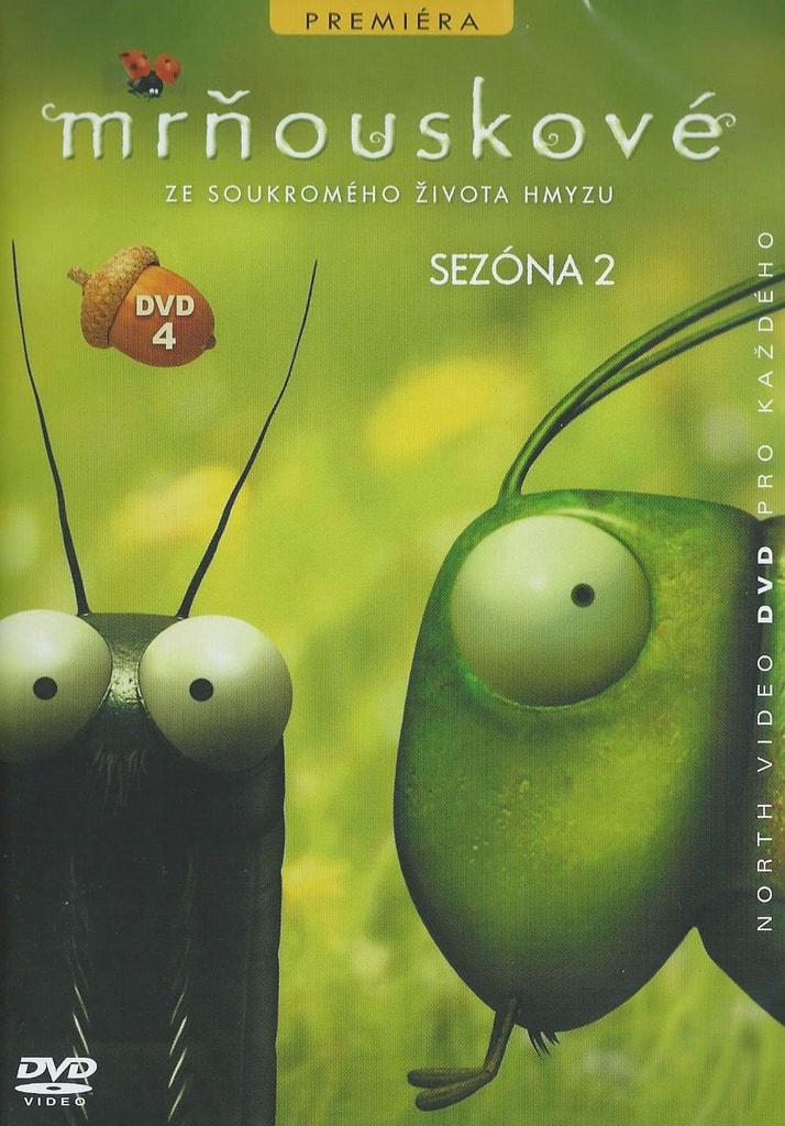 DVD Mrňouskové 4