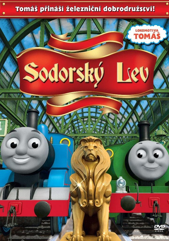 DVD Lokomotiva Tomáš - Sodorský lev
